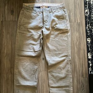 GAP men's khaki pants size 32
